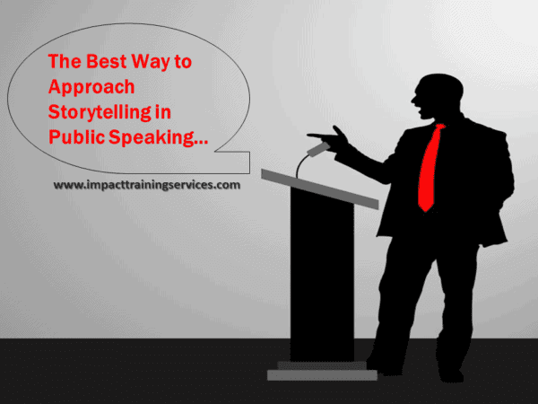 cover image for best way to approach storytelling in public speaking