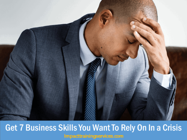 cover image for business skills you need in a crisis