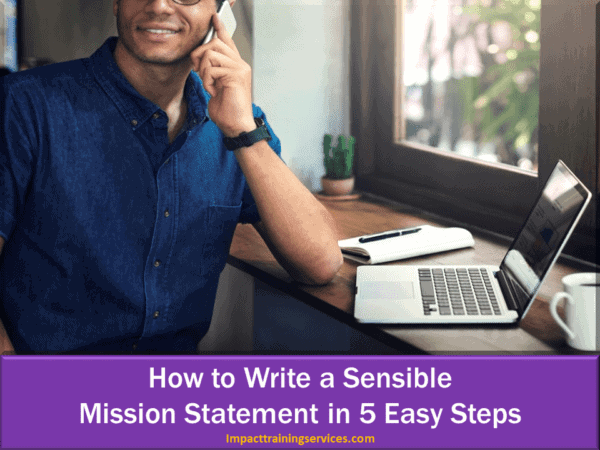cover image for how to write a sensible mission statement