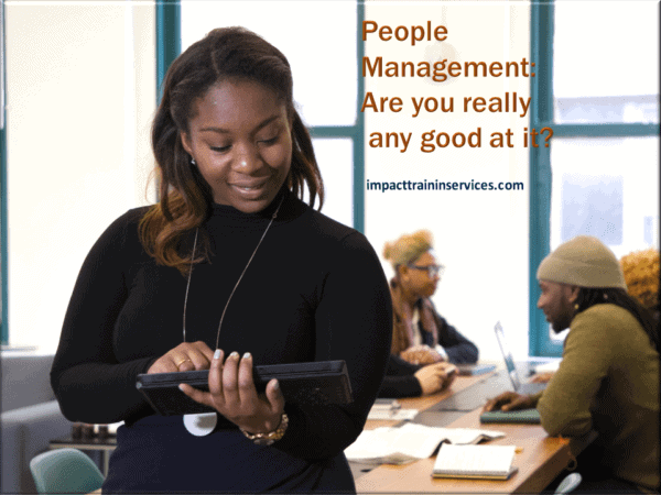 cover image for people management are you really any good at it?