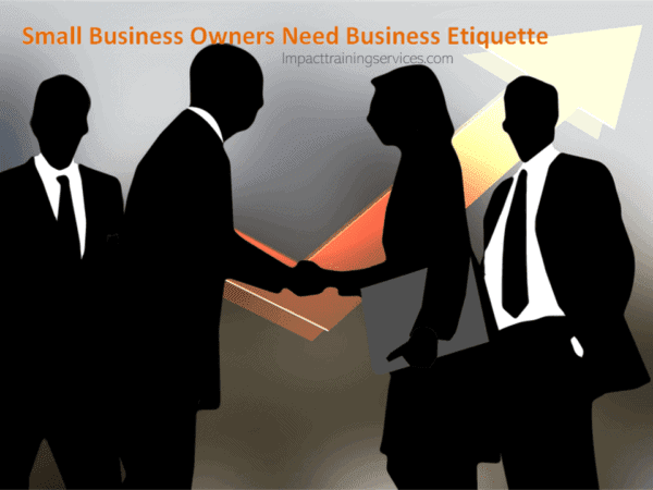 cover image for business etiquette