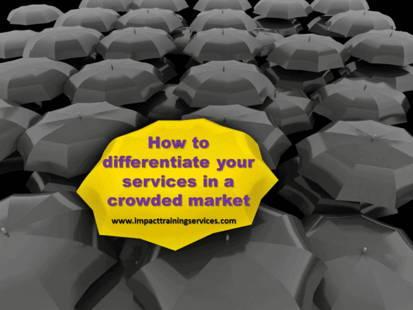 cover image for how to differentiate your service in a crowded market
