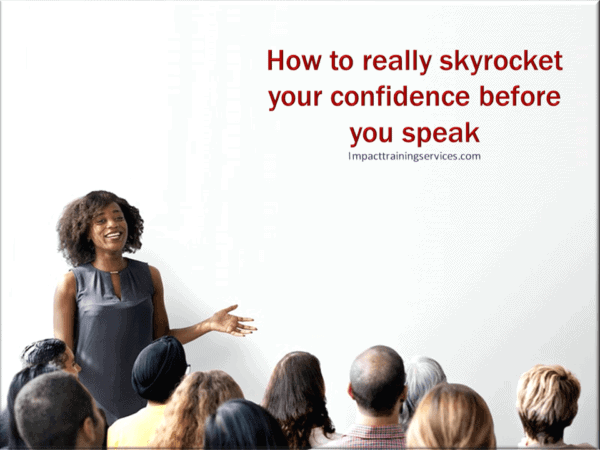 cover image for skyrocket confidence before you speak