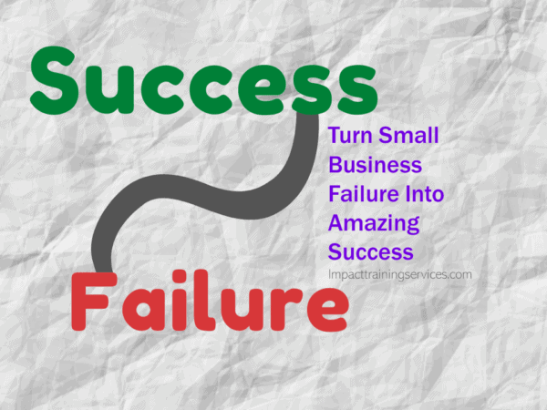 cover image for 6 ways to turn small business failure into amazing success
