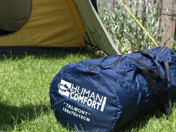 SLAPEN OP DE CAMPING  Review Human Comfort Talmont slaapmat, slaapt hij echt als thuis?
