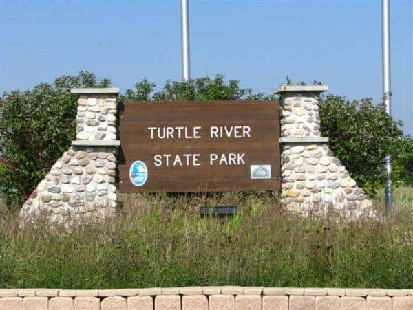 Things to do in North Dakota, Things to do in North Dakota with kids, Turtle River, Turtle River State park