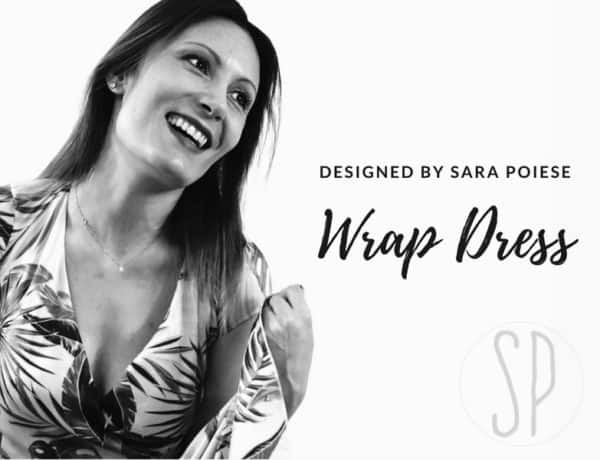 come cucire wrap dress - tutorial di cucito con sara poiese