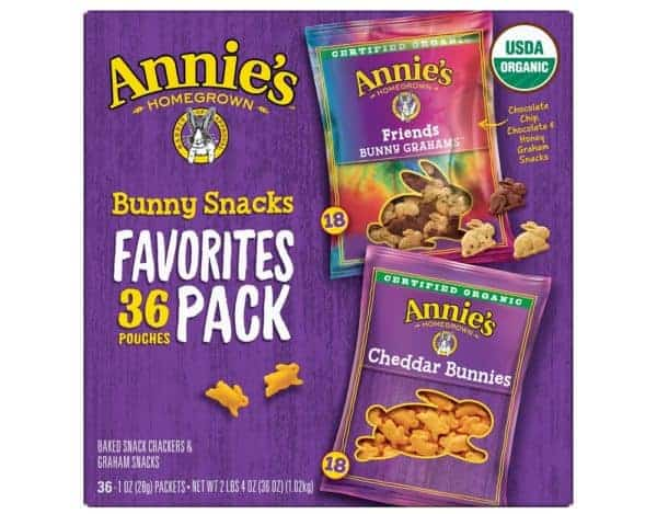 Annie's Homegrown Organic Bunny Snacks