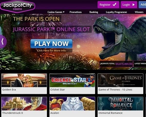 JackpotCity Online Casino REVIEW