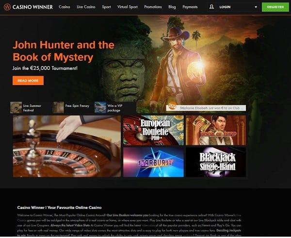Casino Winner Review