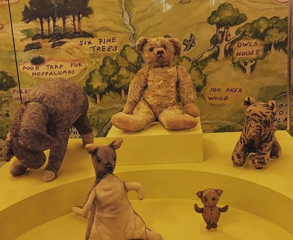 Visit the real winnie the pooh and friends at the new york public library