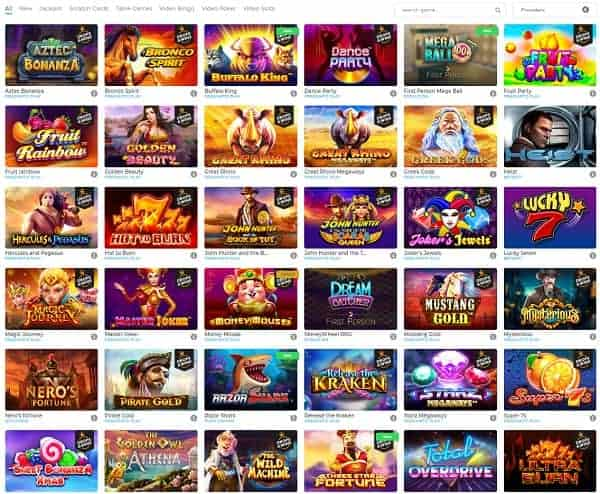 Wolfy Casino Website Review