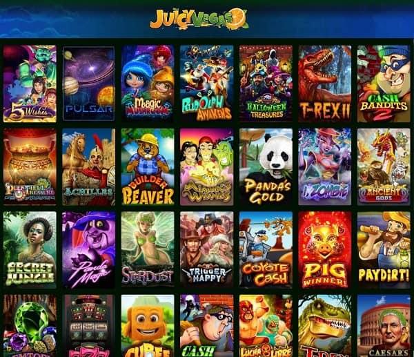 JuicyVegas.com Online Games
