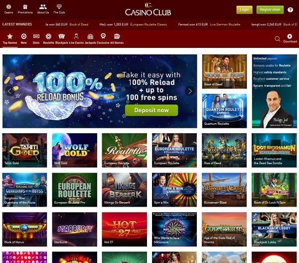 Casino Club 15 Freispiele