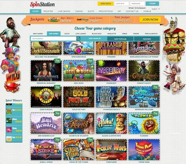Spin Station Online Casino Review