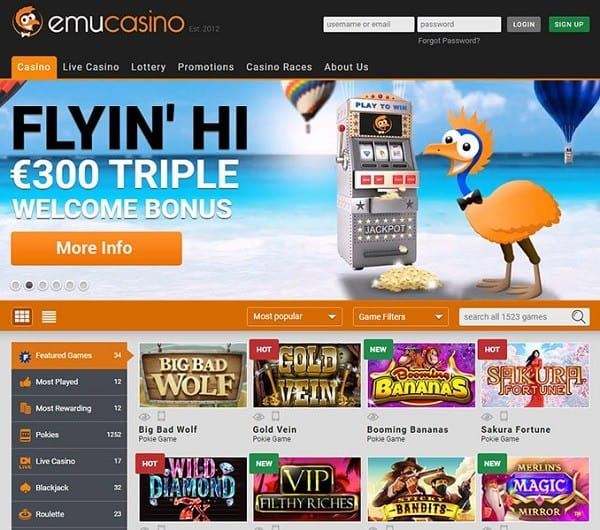 Emu Online Games Review
