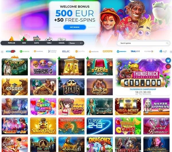 Ego Casino free spins no deposit bonus