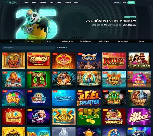 MicBet Micro Casino Review