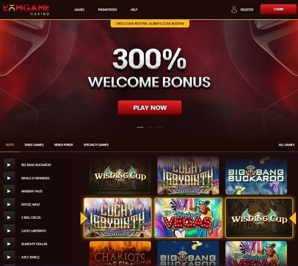 300% welcome bonus to Dom Game Casino (Review)