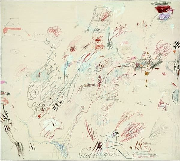 Cy Twombly, Dutch Interior, 1962