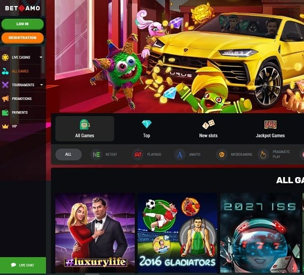 Betamo Casino Full Review and Rating: 9.7/10. Excellent!