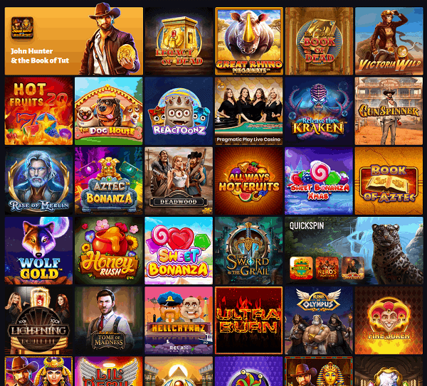 Slot Hunter Free Spins Bonus