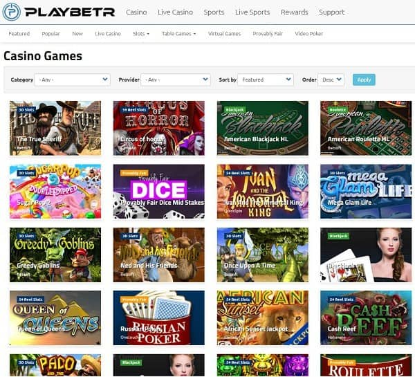 Play Bet R Casino