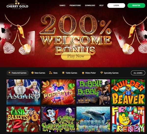 200% bonus and 20 free spins