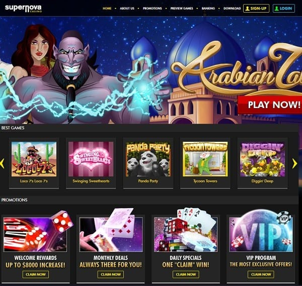 Super Nova Casino Review