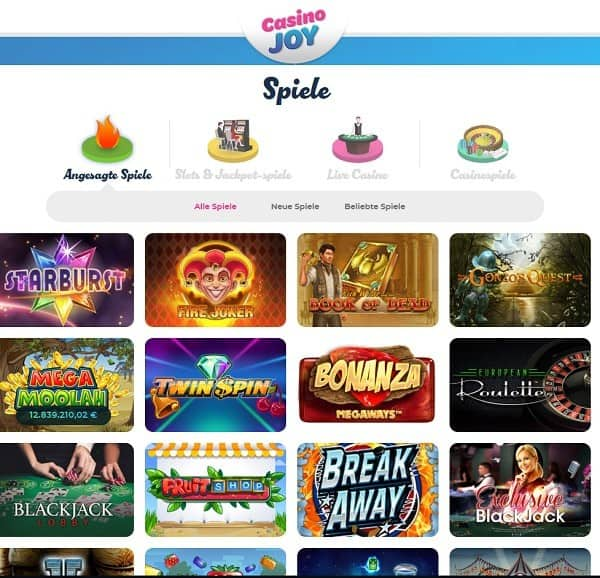 Casino Joy free spins