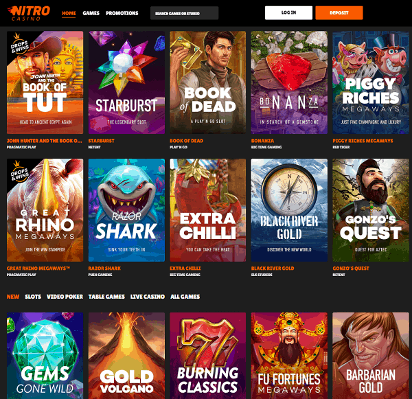 Nitro Casino Full Review