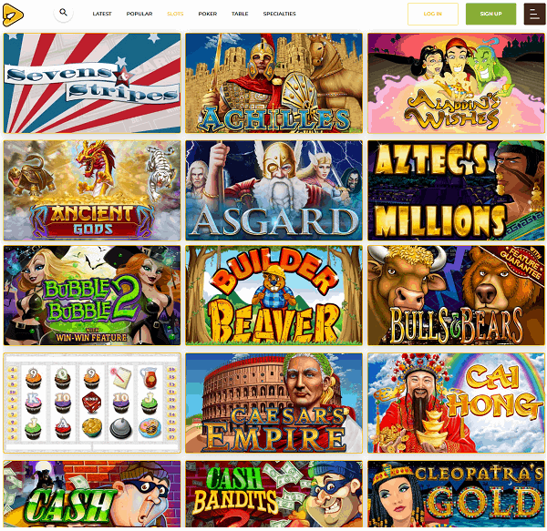 Aussie Play Casino free bonus codes no deposit needed