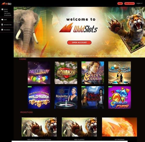 Wild Slots Online Casino
