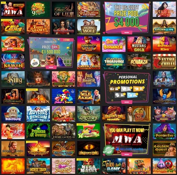 Booi Casino Free Bonus & Promotions - review