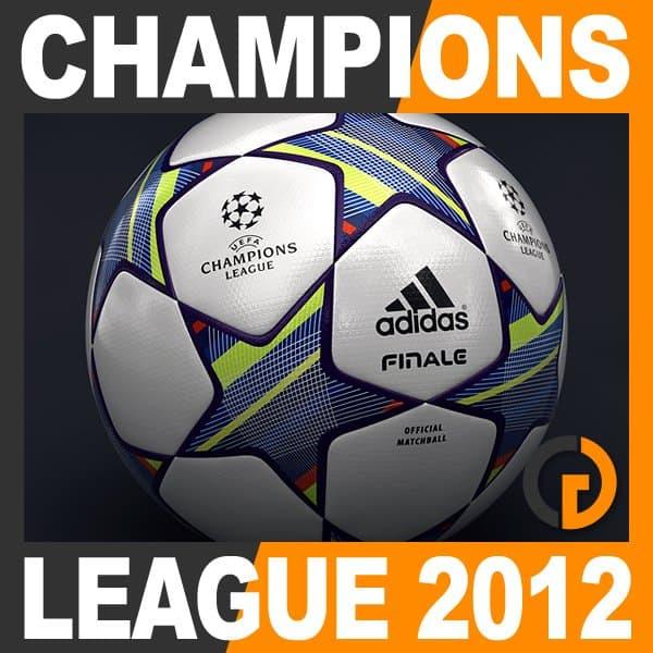 6708 2011 2012 European Leagues Champions League Match Balls and Trophy