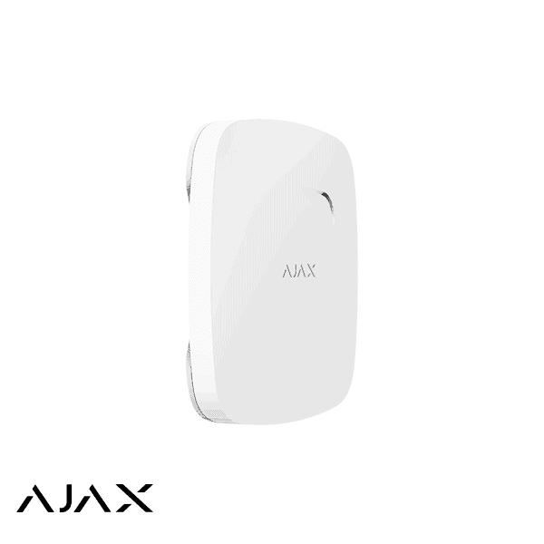 Ajax FireProtect Plus, wit, draadloze optische rookmelder met CO melder