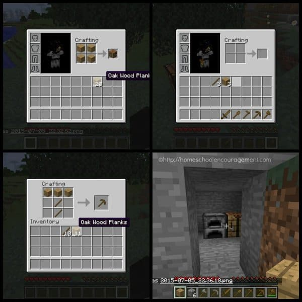 Teaching Being Prepared with Minecraft - Basics - 2