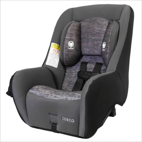 Travel Car Seat for Baby Yoda - the Cosco Mighty Fit 65