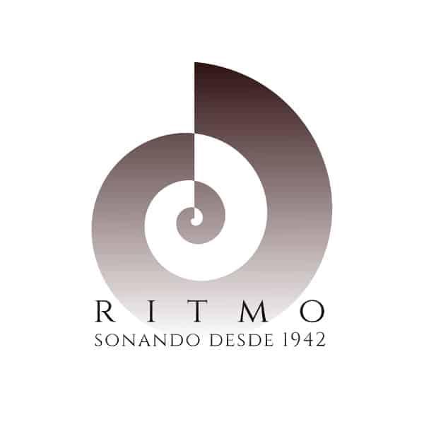 Logotipo tienda de música Ritmo Murcia