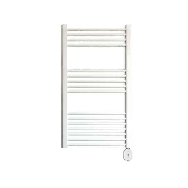 Rointe Giza Oval electric towel rail 300 W in white