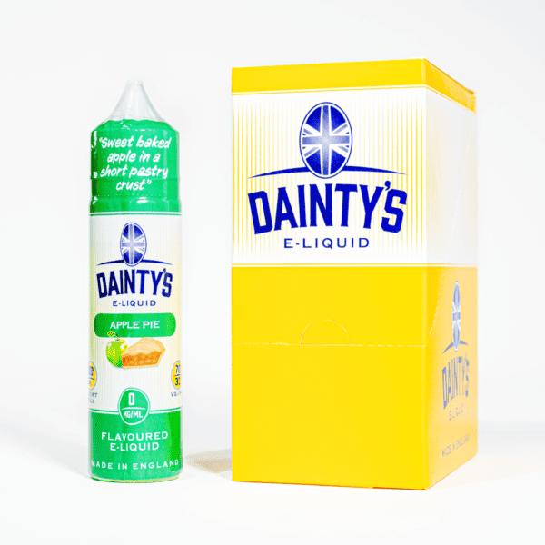 EcoVape Dainty's range Apple Pie 50ml Shortfill