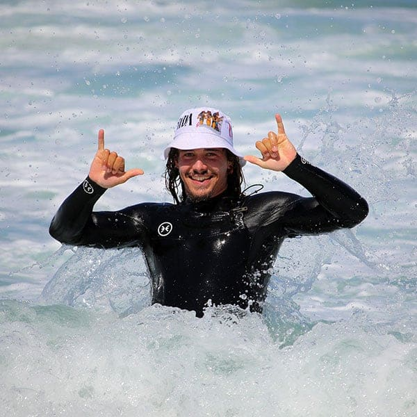 surf instructor umberto