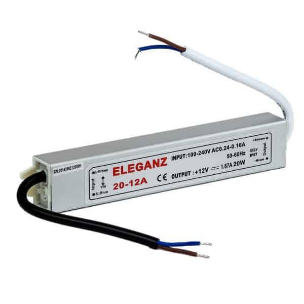 Блок питания герметичный 15 Вт IP67 Eleganz