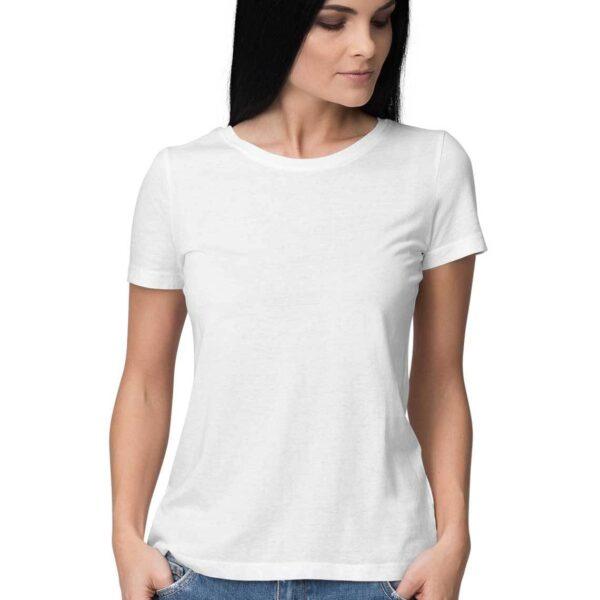 Women's Plain Solid T-Shirt