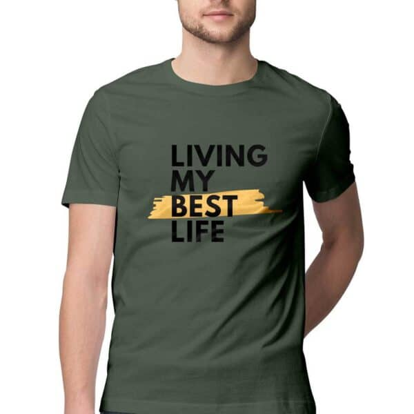 Living my Best life- Men's T-Shirt
