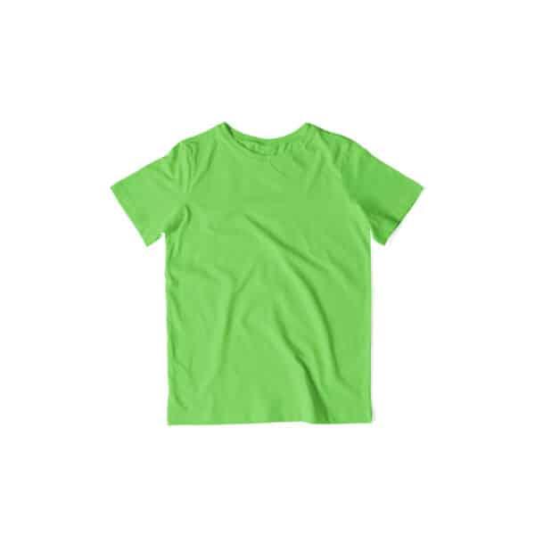 Kids Solid Plain T-Shirts