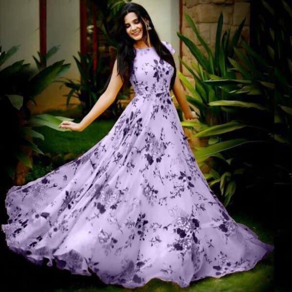Designer Gown - Light Purple