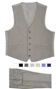 Mens Pants & Matching Vest