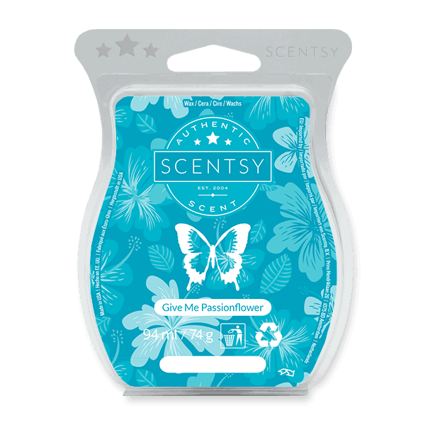 GIVE ME PASSIONFLOWER SCENTSY WAX BAR