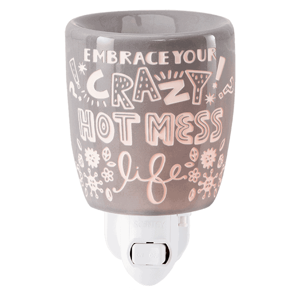 CRAZY HOT MESS PLUG IN WAX WARMER FROM SCENTSY